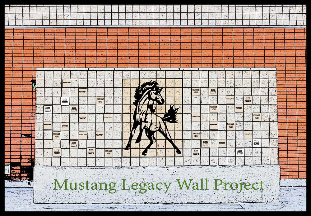 Mustang Legacy Wall Project